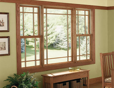 Integrity Windows Wood-Ultrex Double Hung Windows