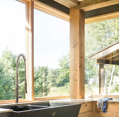 Integrity Windows Wood-Ultrex Casement Windows