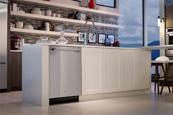 KitchenAid 39 dBA Dishwasher with ProScrub Option