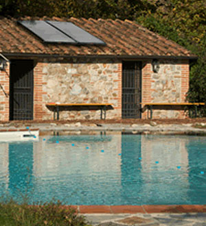 Heliodyne Solar Pool Heating System