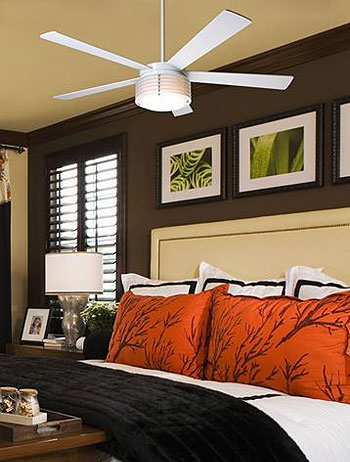 LAMPS PLUS Modern Fan Ceiling Fan