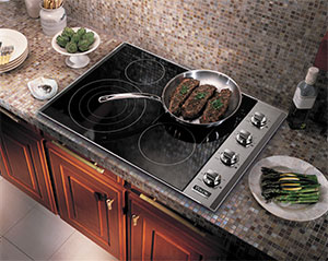 "Viking 36"" Electric Radiant Cooktop"