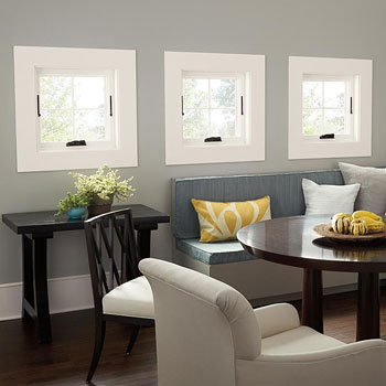 Great window choices for your new home the house designers for Marvin integrity casement windows