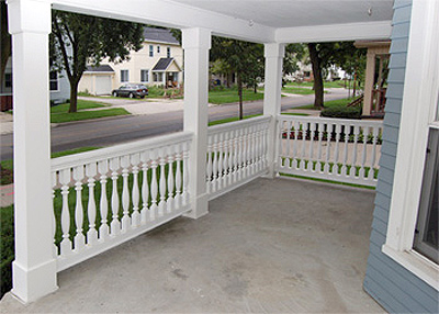Choosing the best porch railing for your home the house for Fypon balustrade systems
