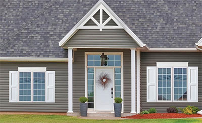 Fypon Craftsman Stepped Crossheads & Choosing the Right Crossheads for Your Home | The House Designers