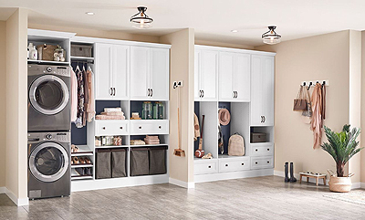 ClosetMaid Laundry & Mudroom