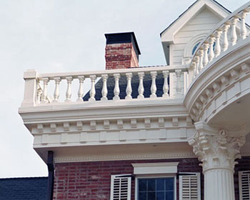 enhance your home with decorative columns millwork - Decorative Pillars For Homes