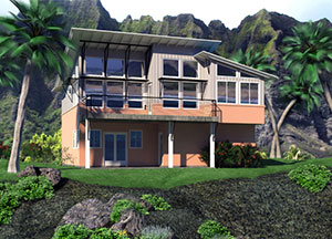 Waimea House Plan Exterior