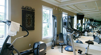 creating a home gym in your new home  the house designers
