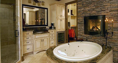 Warmly Yours heated stone and heated tile flooring