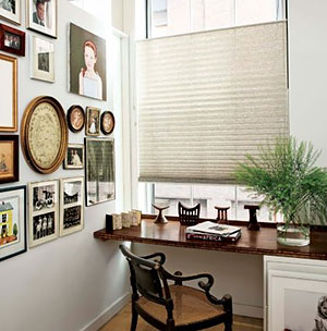 "smith+noble Classic 1"" Pleated Shades"