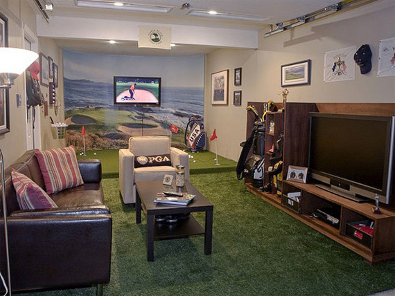 Create The Coolest Man Cave House Designers
