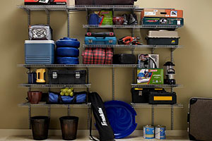 ClosetMaid's Max Load Wire Shelving