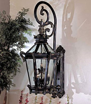 "LAMPS PLUS Stratford Hall 63 1/4"" Wall Light"
