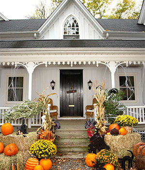 Decorate Your Home's Entryway and Enter Our Halloween Contest