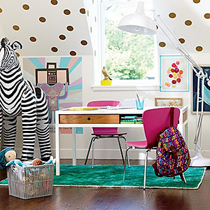 Creative storage solutions for the playroom the house for Land of nod playroom ideas