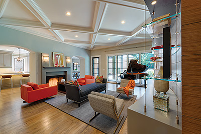 Fypon Coffered Ceiling