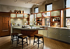 KraftMaid Contemporary & Dynamic Kitchen