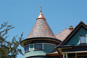 DaVinci Roofscapes shake and slate tiles