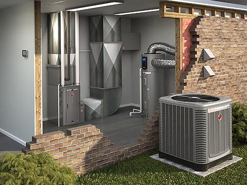 Rheem HVAC System