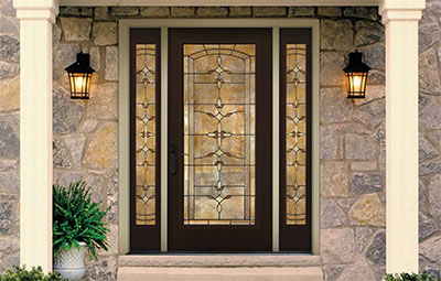 Therma-Tru Door Classic-Craft Canvas Collection with Bella Glass