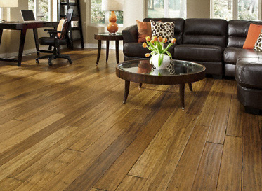 Design freedom with eco friendly bamboo floors the house for Eco friendly bamboo flooring