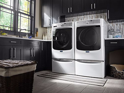 Maytag Large Capacity Dryer with Sanitize Cycle and Power System