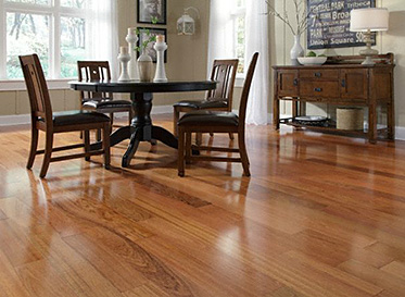 Hardwood floors to upgrade your dining room the house for Dining room upgrades