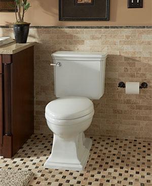 Mansfield Plumbing Brentwood Suite Toilet