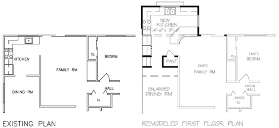 Interesting House Addition Plans Of New Shed Dormer For 2 Bedrooms ...