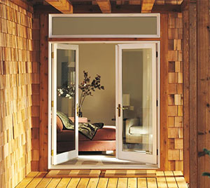 Integrity Windows Wood Ultrex Inswing French Patio Door