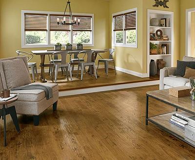 Armstrong Flooring PRZYM Treeline Hickory Rigid Core - Amber