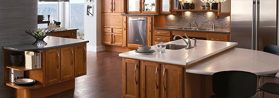 KraftMaid Universal Design Kitchen Cabinetry