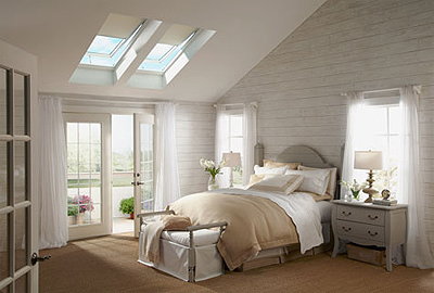 "VELUX Solar Powered ""Fresh Air"" Skylights"