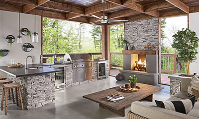 How To Build An Outdoor Kitchen The House Designers