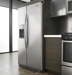 Whirlpool 21 cu ft. Counter Depth Side-by-Side Refrigerator