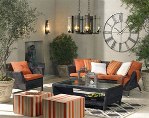 LAMPS PLUS Outdoor Living Room