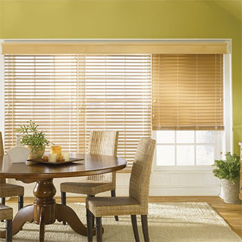 "Bali Faux Wood Blind - 2"" from Blinds.com"
