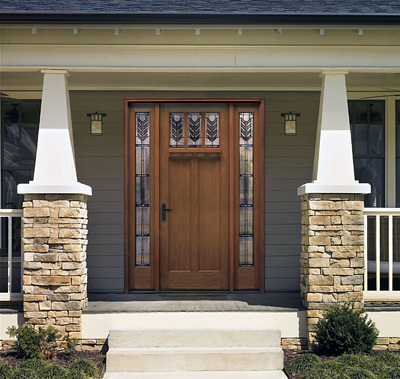 8 foot front doorDesigning Your Front Entryway  The House Designers