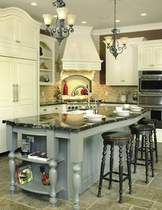 Kitchen Designs  Islands on Functional  Stylish Kitchen Islands   The House Designers