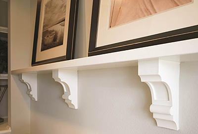 Fypon Dentil Shelf