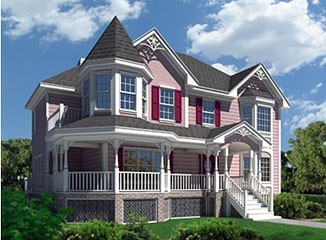 New england historic home plans home design and style for New victorian style homes