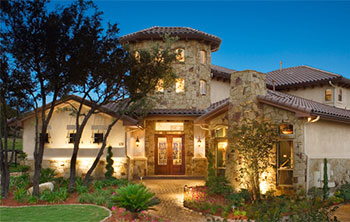 Spanish Style choosing colors for spanish mission-style homes | the house designers