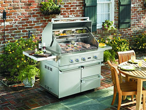 Get Grilling With A Viking Outdoor Kitchen The House