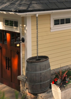 Absolute Green Home Rain Barrel