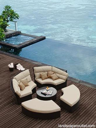 Ordinaire Bishan Outdoor Sectional Daybed Collection