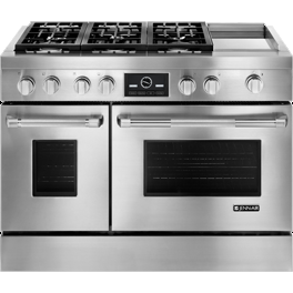 Jenn-Air 48 Pro-Style Dual-Fuel Range with Griddle and MultiMode