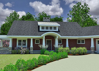International builders show features innovative new home for Award winning one story house plans