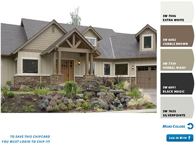 Exterior House Colors Sherwin Williams