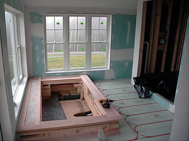 For lasting comfort efficiency consider radiant floor for Best flooring for hydronic heat